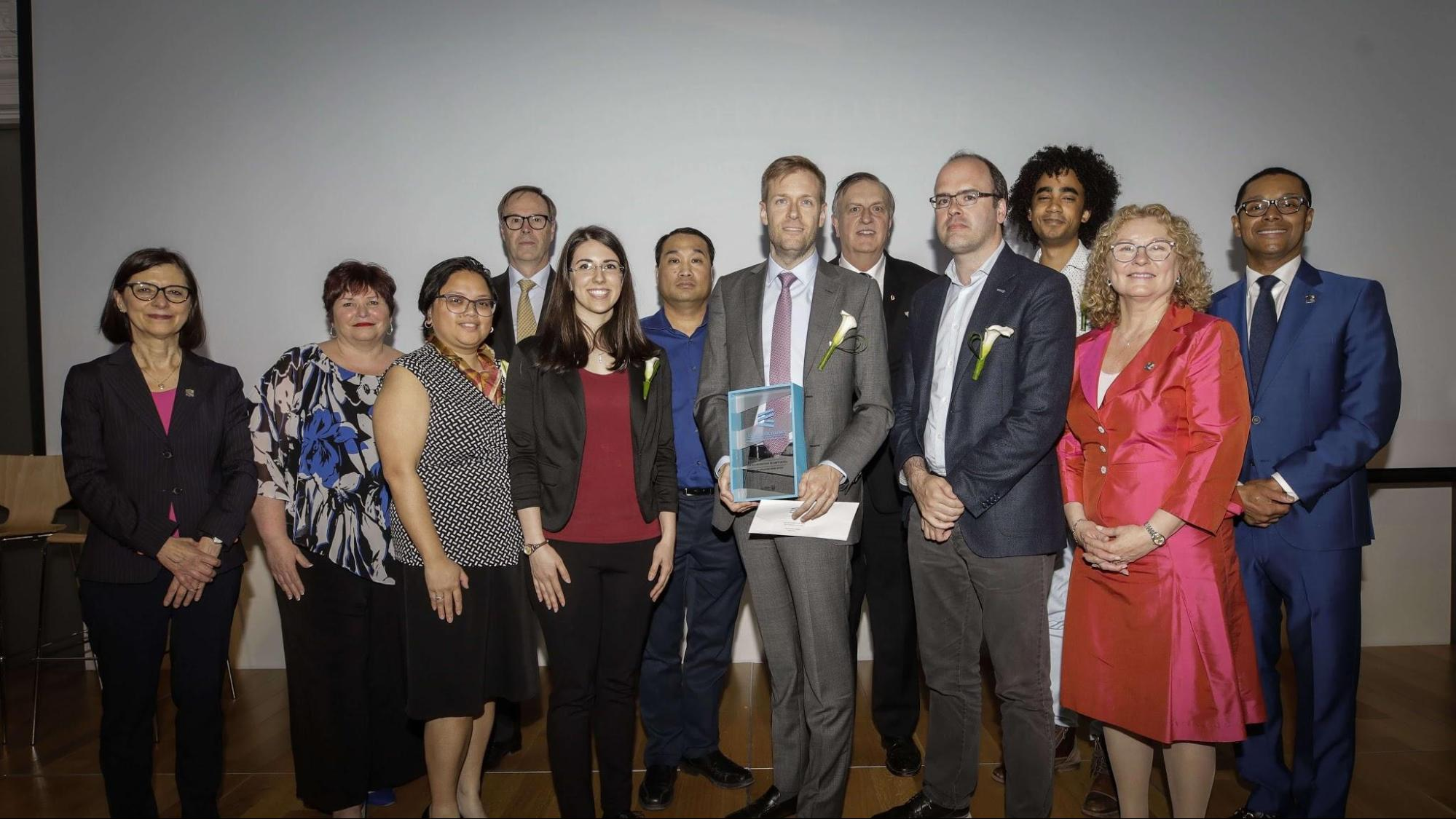 Opal wins top healthcare award in Quebec Prix d'excellence awards gala